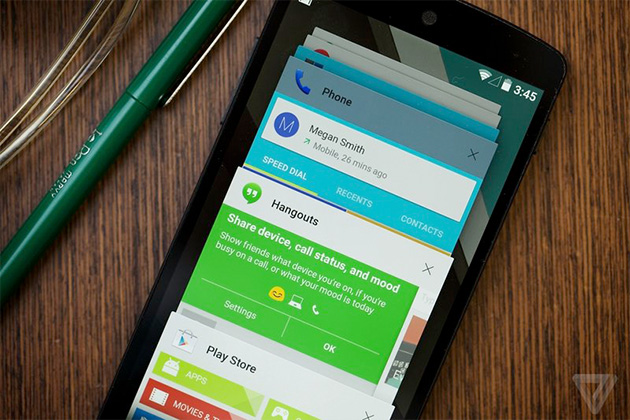 Chrome Browser for Android with Material Design